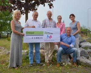 Uitreiking cheque TvdB (Small)